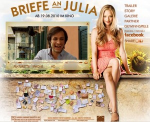 Der Film Briefe an Julia