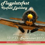 Flugplatz Krefeld Egelsberg Flugshow