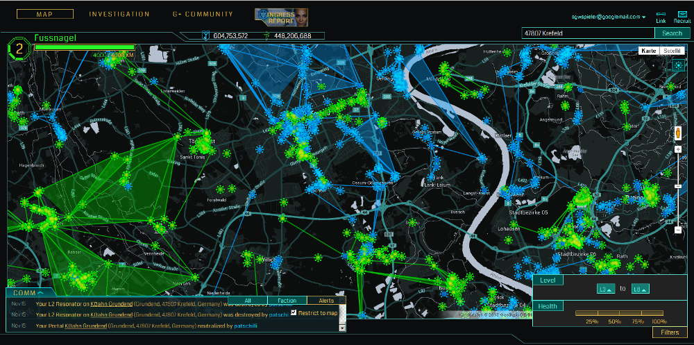Ingress Intel
